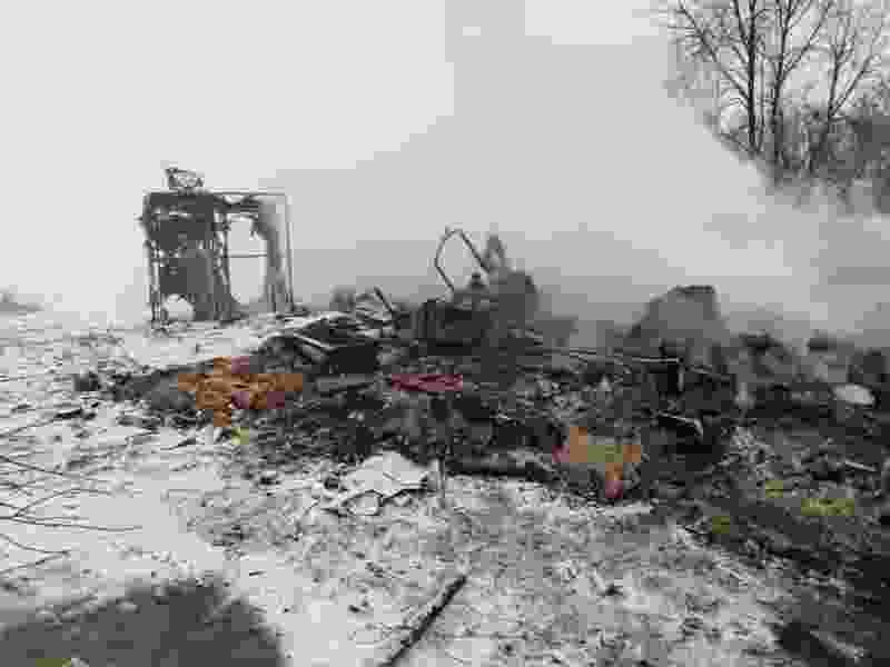 В Тамбовской области в пожаре погибла семья с двумя маленькими детьми