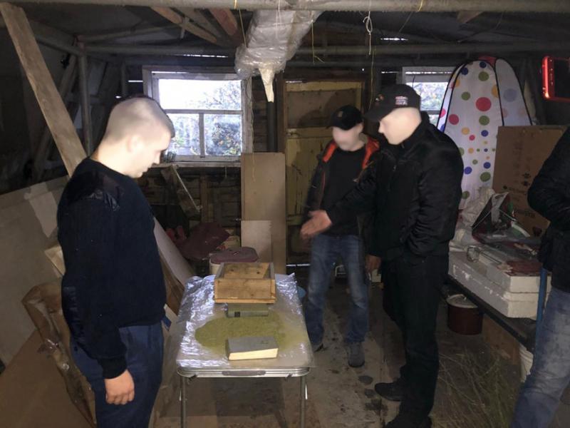 21 килограмм марихуаны изъяли полицейские ужителя Тамбовского района