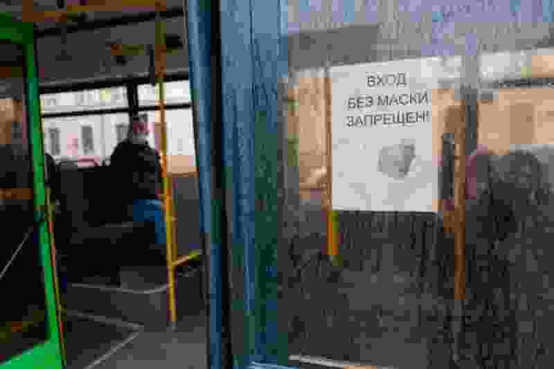 8 водителей автобусов в Тамбове не соблюдали масочный режим