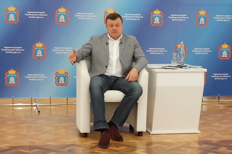 Александр Никитин: мы рассматриваем возможность возвращения к старой схеме управления Тамбовом