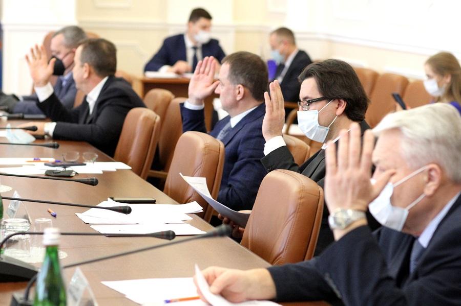 Депутаты облдумы приняли ряд законопроектов