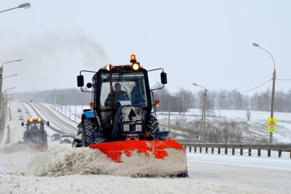 Дорожные службы региона снова выходят на борьбу со стихией