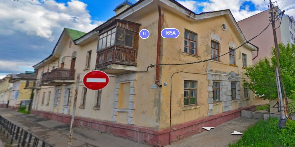 Два дома в центре Тамбова признали аварийными и подлежащими сносу