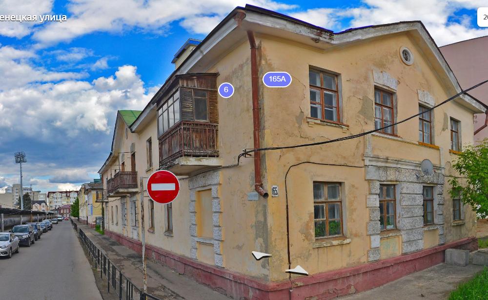 Ещё два дома в центре Тамбова признали аварийными и подлежащими сносу