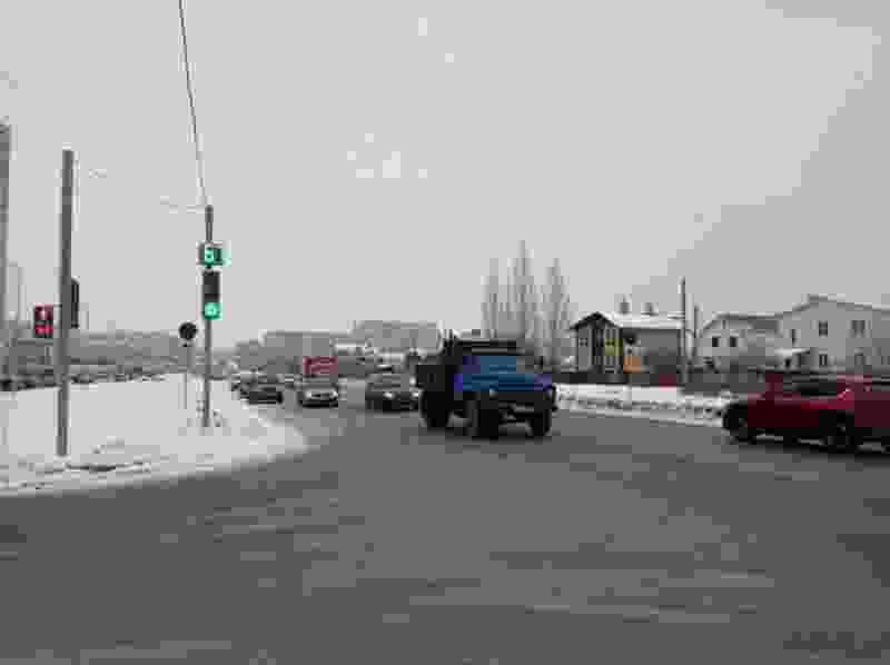 На севере Тамбова заработали новые светофоры