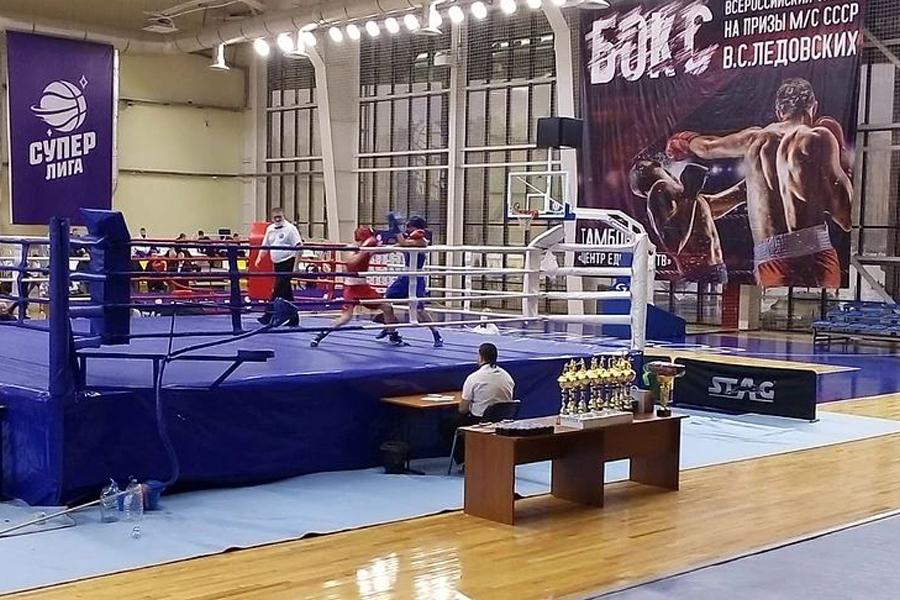 Объявлены победители турнира по боксу в Тамбове