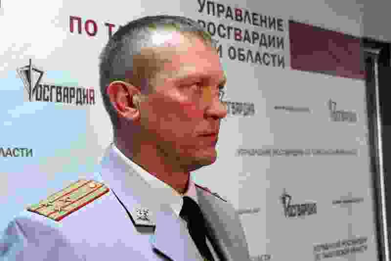 Сергей Шишмонин покинул пост начальника Росгвардии по Тамбовской области
