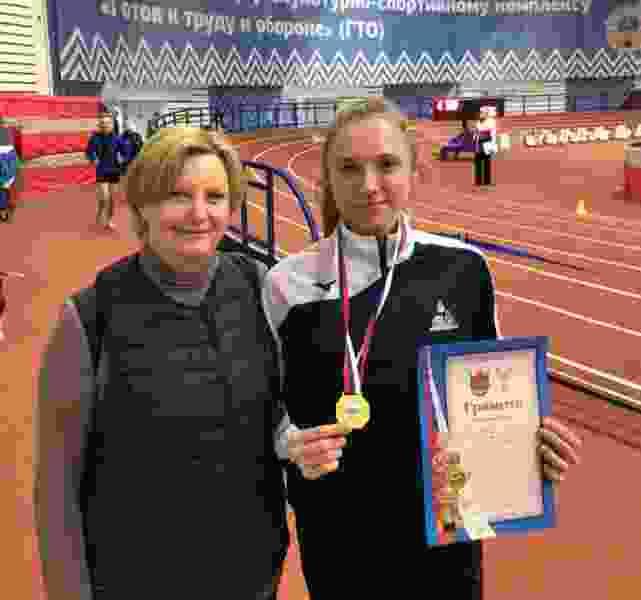 Спортсменка из Мичуринска установила новый рекорд области по бегу