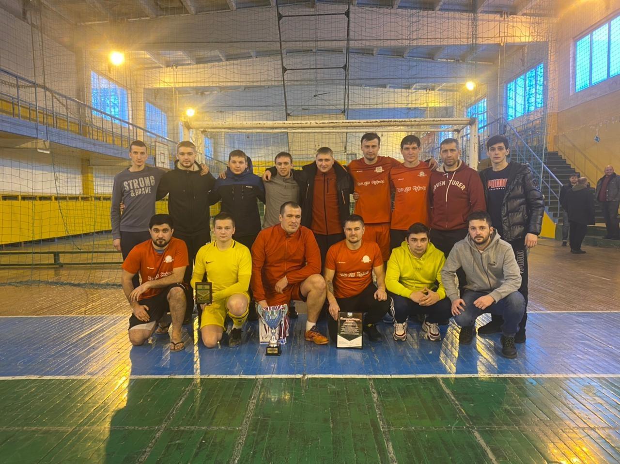 Стали известны победители Кубка администрации города по мини-футболу