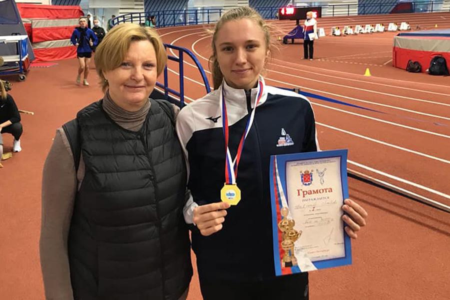 Тамбовская легкоатлетка установила рекорд области