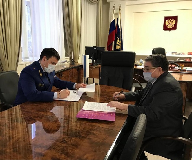 Уполномоченный по правам ребенка и прокурор Тамбовской области подписали соглашение о взаимодействии