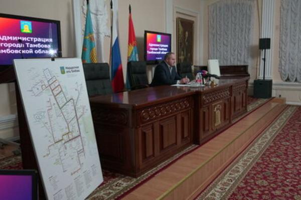 В областном центре планируют поменять систему транспортного обслуживания
