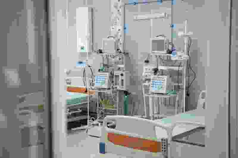 В отделении лечения вирусных пневмоний возникли проблемы с давлением кислорода