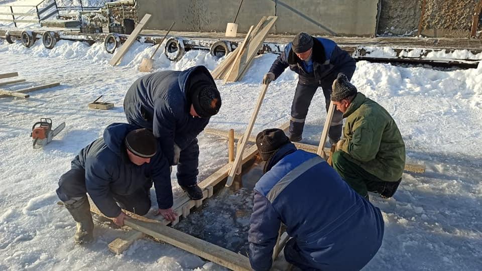 В Тамбове пришедшим на крещенские купания будут измерять температуру