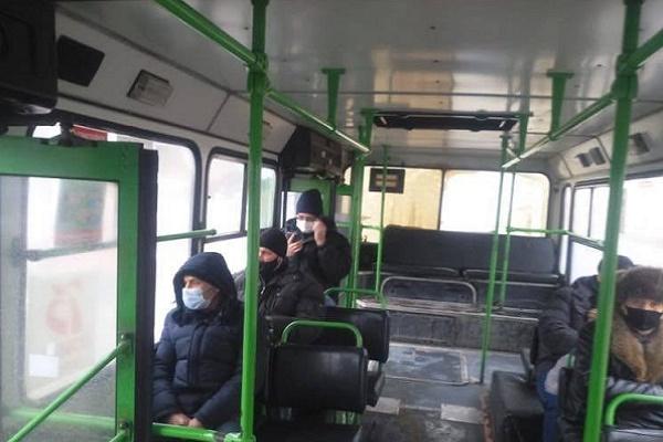 В Тамбове проверяют соблюдение масочного режима в транспорте