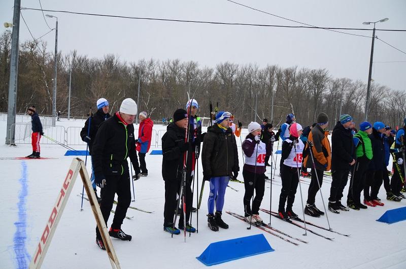 В Тамбове состоялись лыжные гонки среди спортсменов-любителей