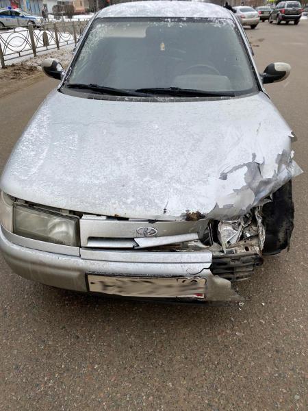 В Тамбове столкнулись три автомобиля