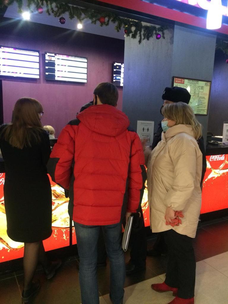 В тамбовских кинотеатрах нарушаются санитарные нормы