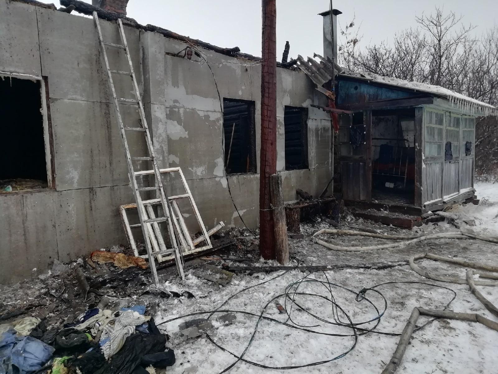 В Тамбовской области 1 января произошло два пожара
