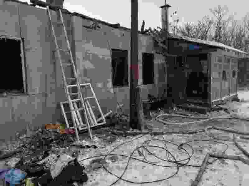 В Тамбовской области за сутки в пожаре погибло двое мужчин