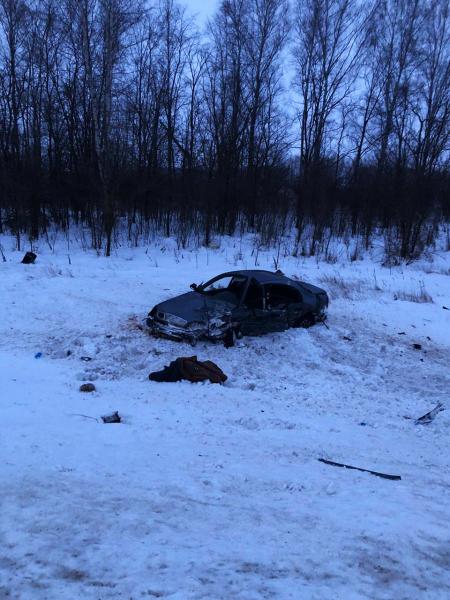 В Тамбовском районе произошло смертельное ДТП с двумя иномарками