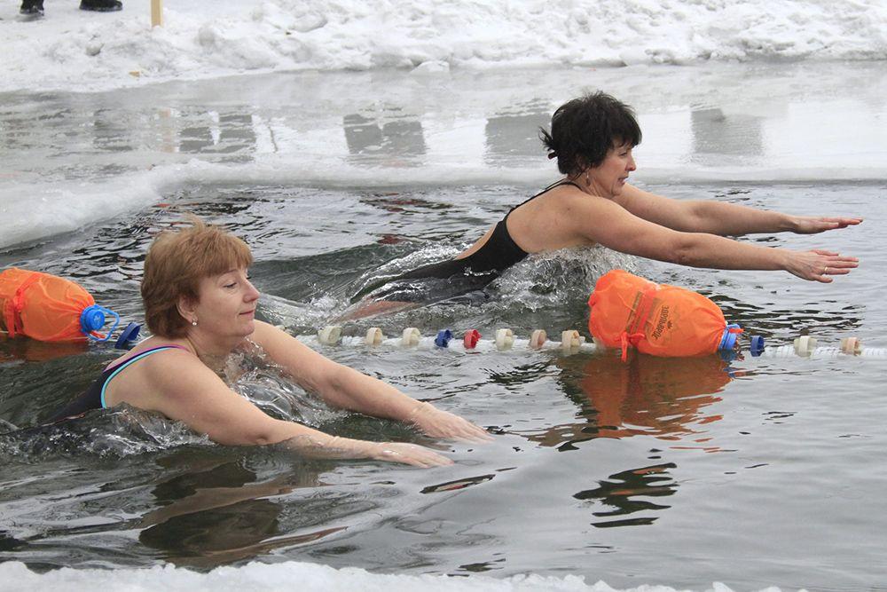 Жительница Рассказово стала абсолютным победителем в чемпионате по зимнему плаванию