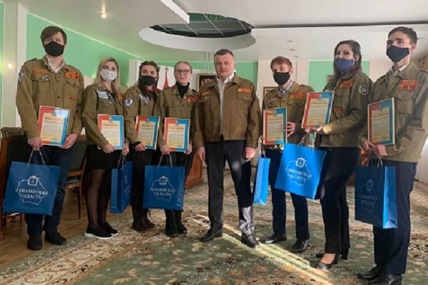 Александра Никитина попросили устроить бойцов стройотрядов на работу в Тамбовской области
