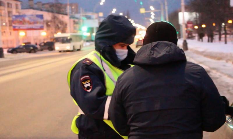 Десять автомобилей неплательщиков штрафов задержали во время рейдов в Тамбове