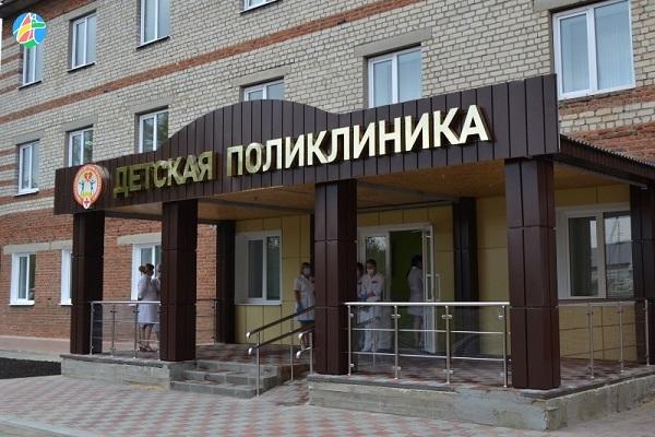 Детская поликлиника Рассказова переехала на новое место