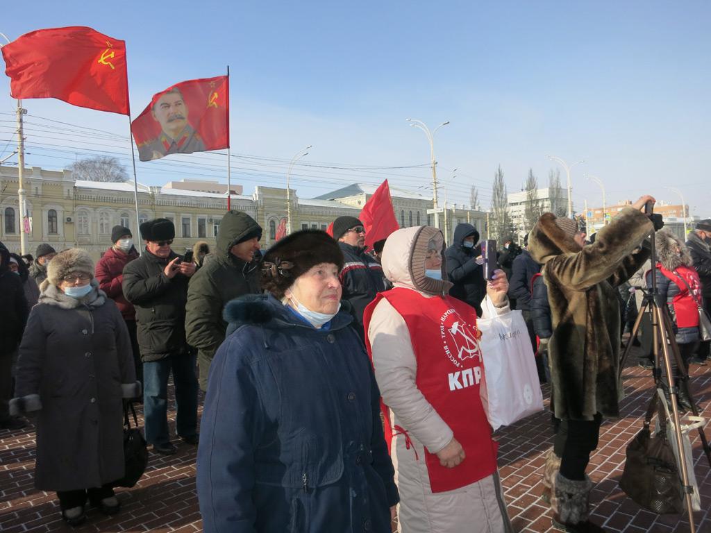 Коммунисты провели в Тамбове народный сход