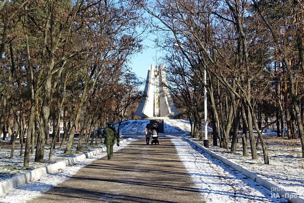 Котовск готовит проект реконструкции парка Воинской Славы