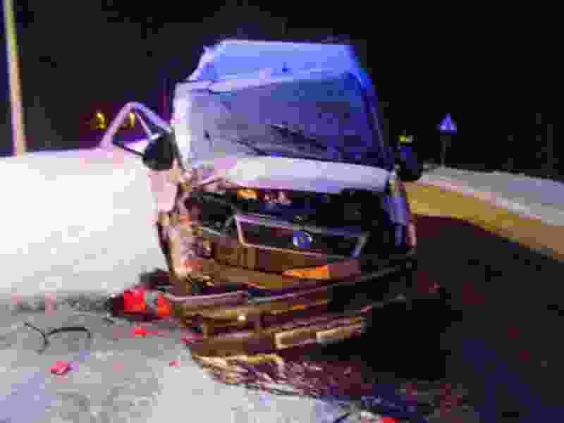 Под Тамбовом при столкновении с фурой пострадали 4 пассажира микроавтобуса