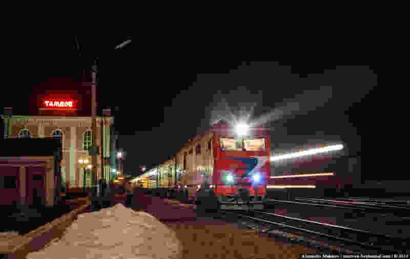 Поезд №31 «Тамбов-Москва» возобновит движение