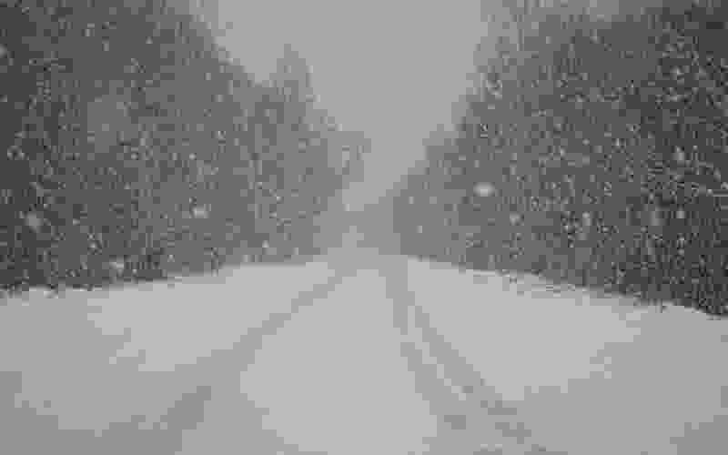 Сегодня вечером в регионе ожидается сильный снегопад
