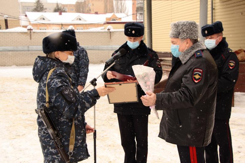 Сводный отряд полиции Тамбовской области вернулся из командировки