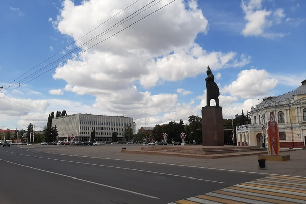 Тамбовчане снова хотят убрать памятник Ленину с центральной площади