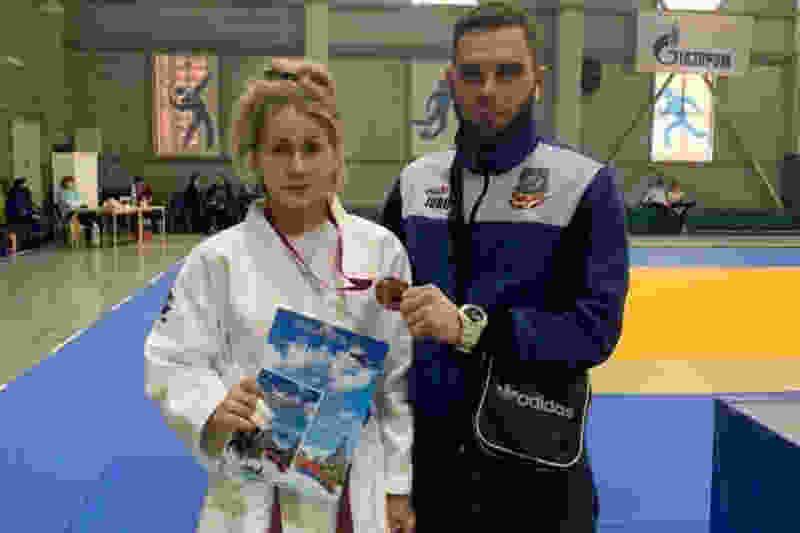 Тамбовская дзюдоистка заняла третье место на всероссийском турнире по дзюдо