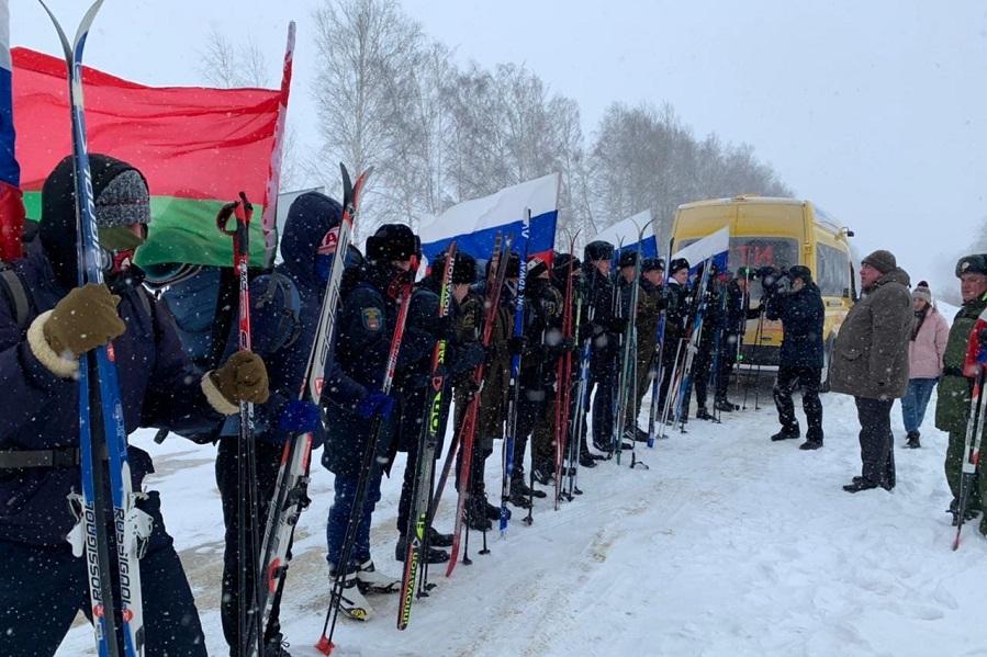Тамбовские кадеты отправились в лыжный поход