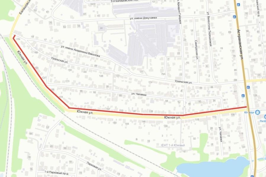 В этом году планируется завершить ремонт дороги на улице Южной