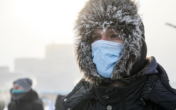 В праздничные дни в Тамбове ожидается мороз до -27 градусов