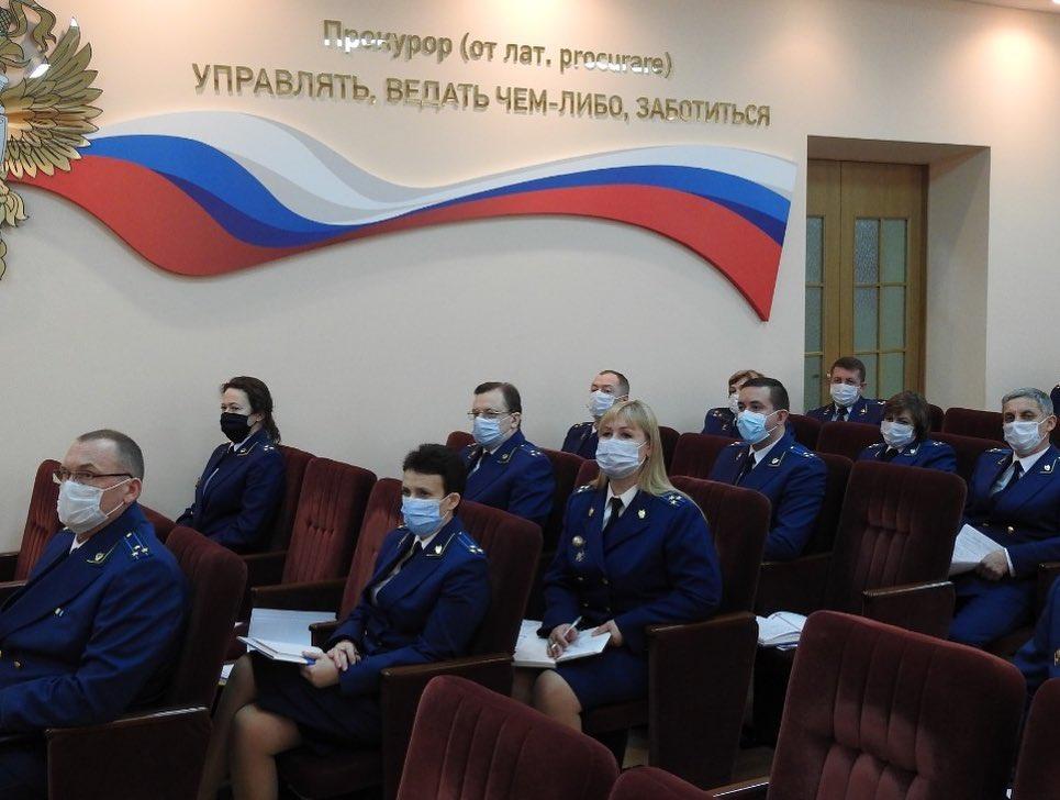 В прокуратуре Тамбовской области подвели итоги работы за 2020 год
