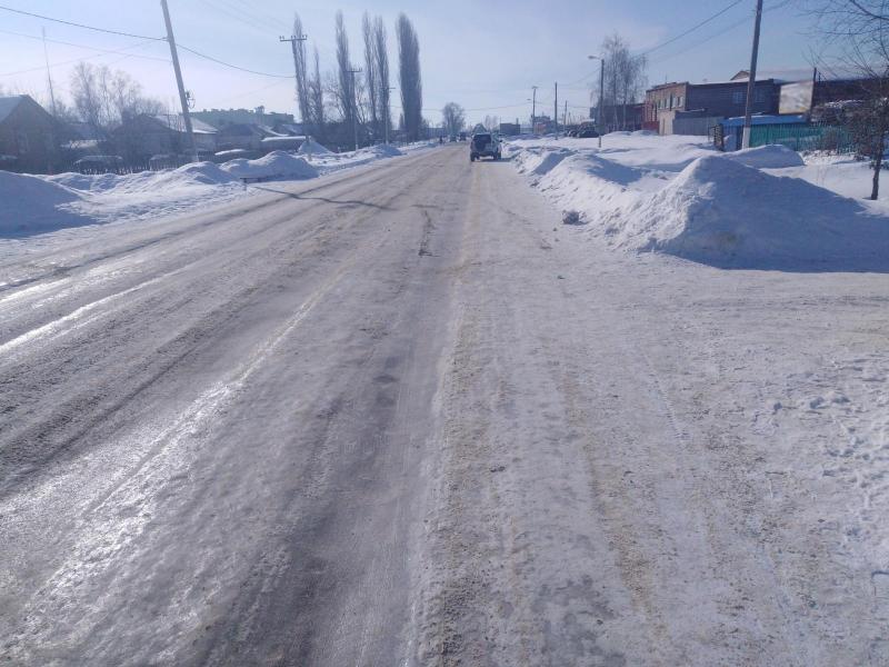 В Рассказовском районе легковой автомобиль сбил подростка