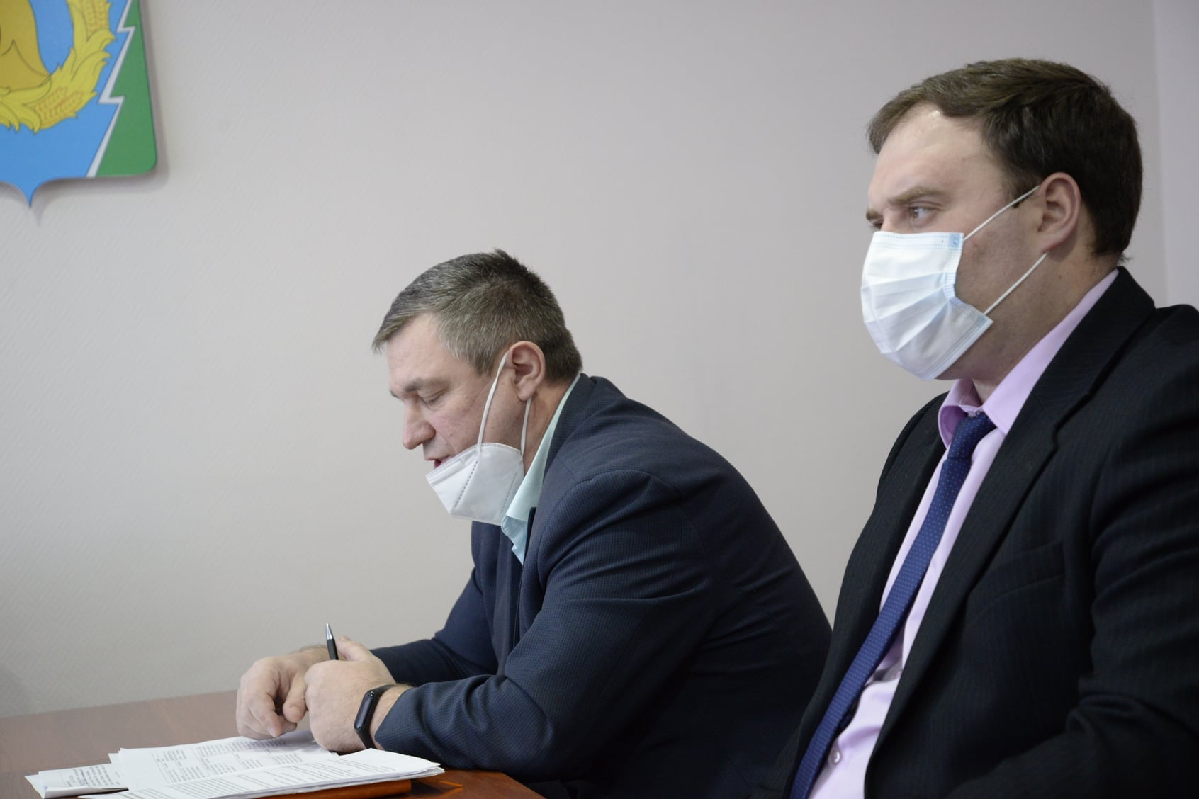 В Рассказовском районе прошло заседание оперштаба по недопущению распространения АЧС