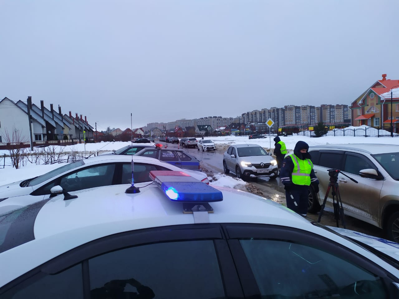 В Тамбове автоинспекторы проверили водителей на предмет соблюдения правил перевозки детей