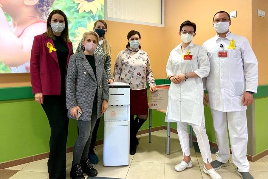 В Тамбове прошла акция в поддержку больных раком детей