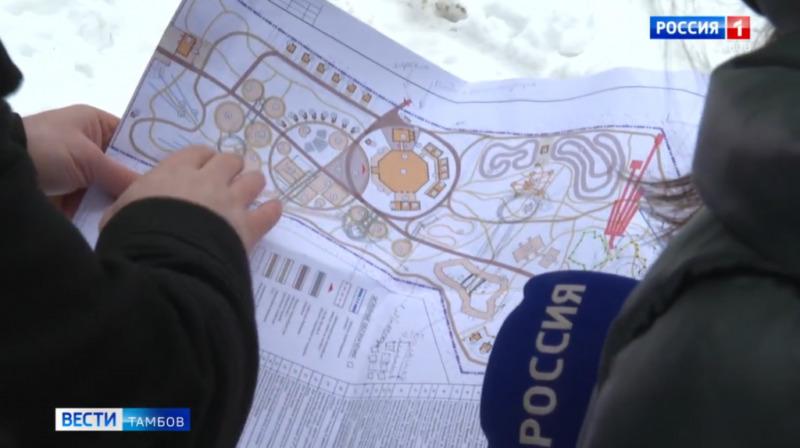 В Тамбовском районе возведут крупнейший в России семейный парк отдыха