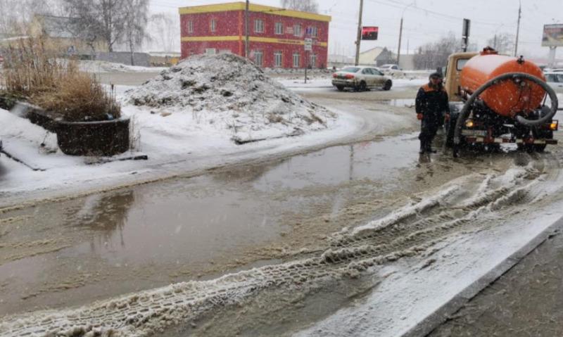 За выходные с улиц Тамбова вывезли более 2 тысяч кубометров снега