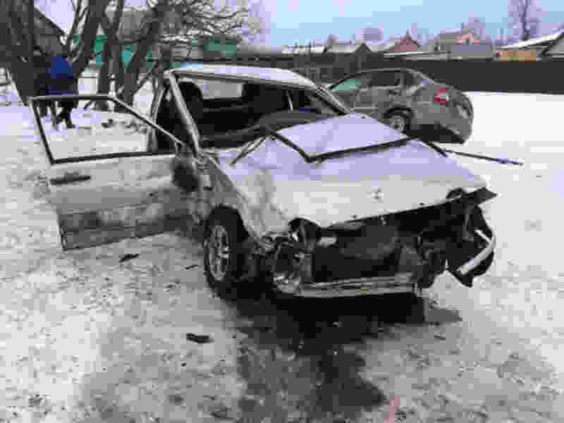 14-летний подросток устроил аварию на трассе в Бондарском районе