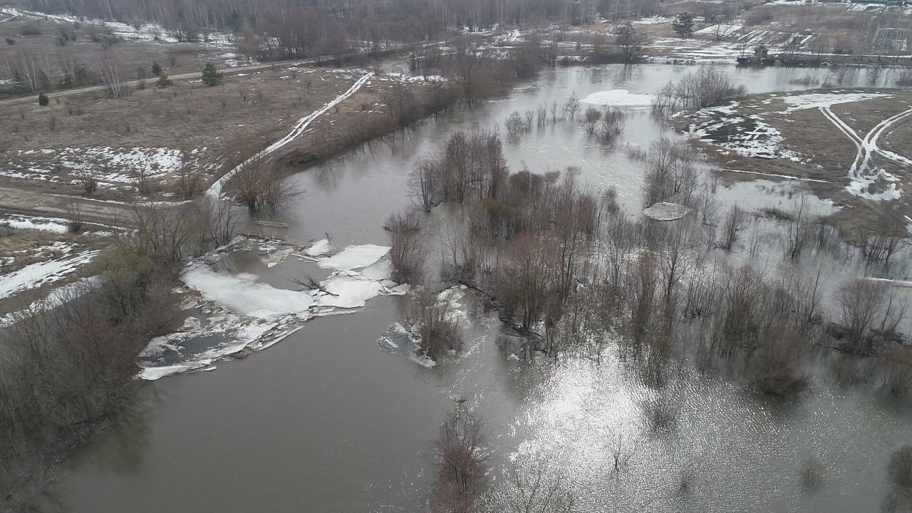 Два села в Тамбовской области отрезаны от мира из-за паводка