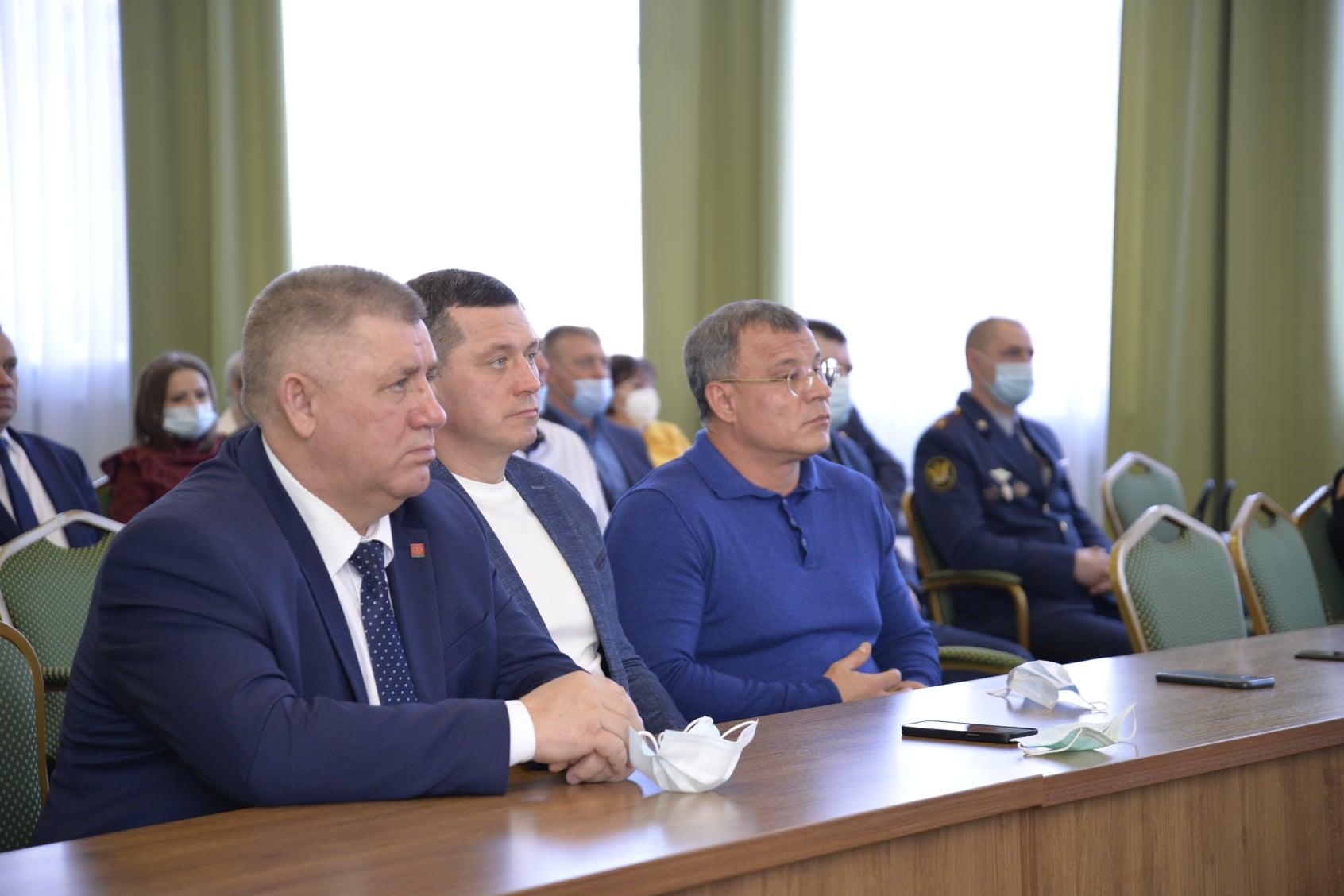 Глава Рассказовского района отчитался о результатах работы за 2020 год